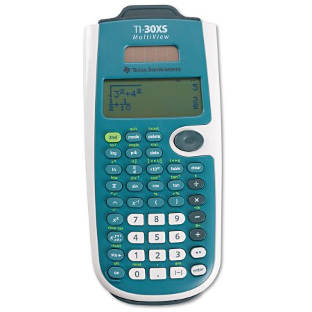 Texas instruments ti-30xs 30xsmv/tbl multiview sci calculator at.